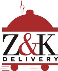 Z & K Delivery logo