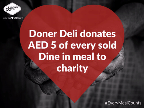 Doner Deli donates to charity