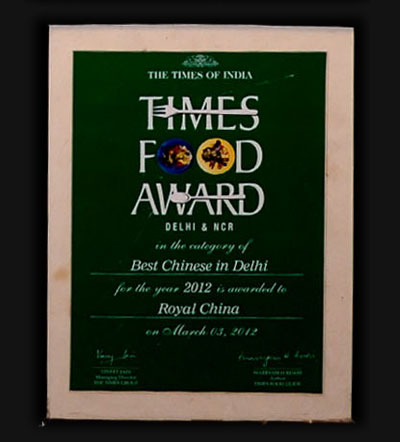 Royal china chinese restaurants in nehru place south delhi delhi times food awards in the category of best chinese 2012 stopboris Image collections