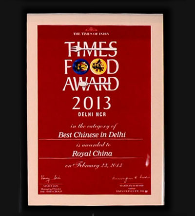Royal china chinese restaurants in nehru place south delhi delhi times food awards delhi and ncr best chinese in delhi2011 stopboris Image collections