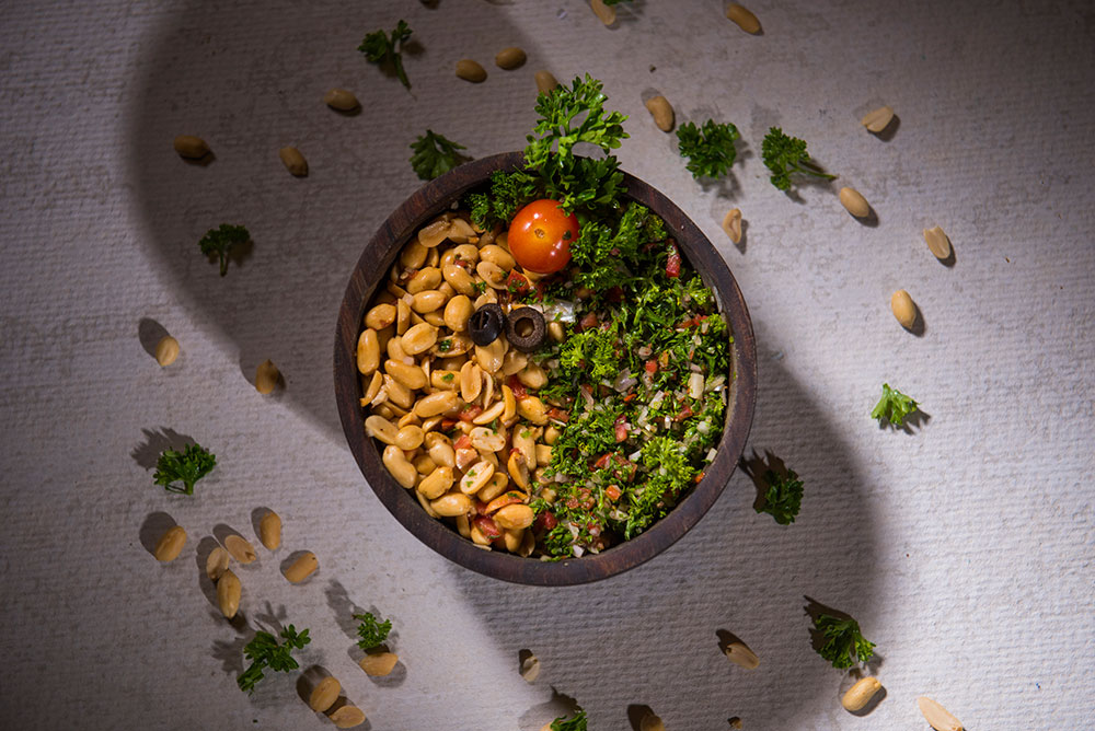 Tabbouleh Peanut Salad