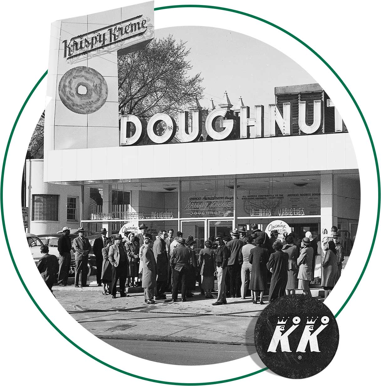 First Krispy Kreme store