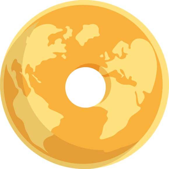 Doughnut Globe