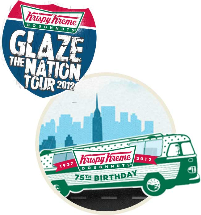 Glaze the Nation Tour Bus