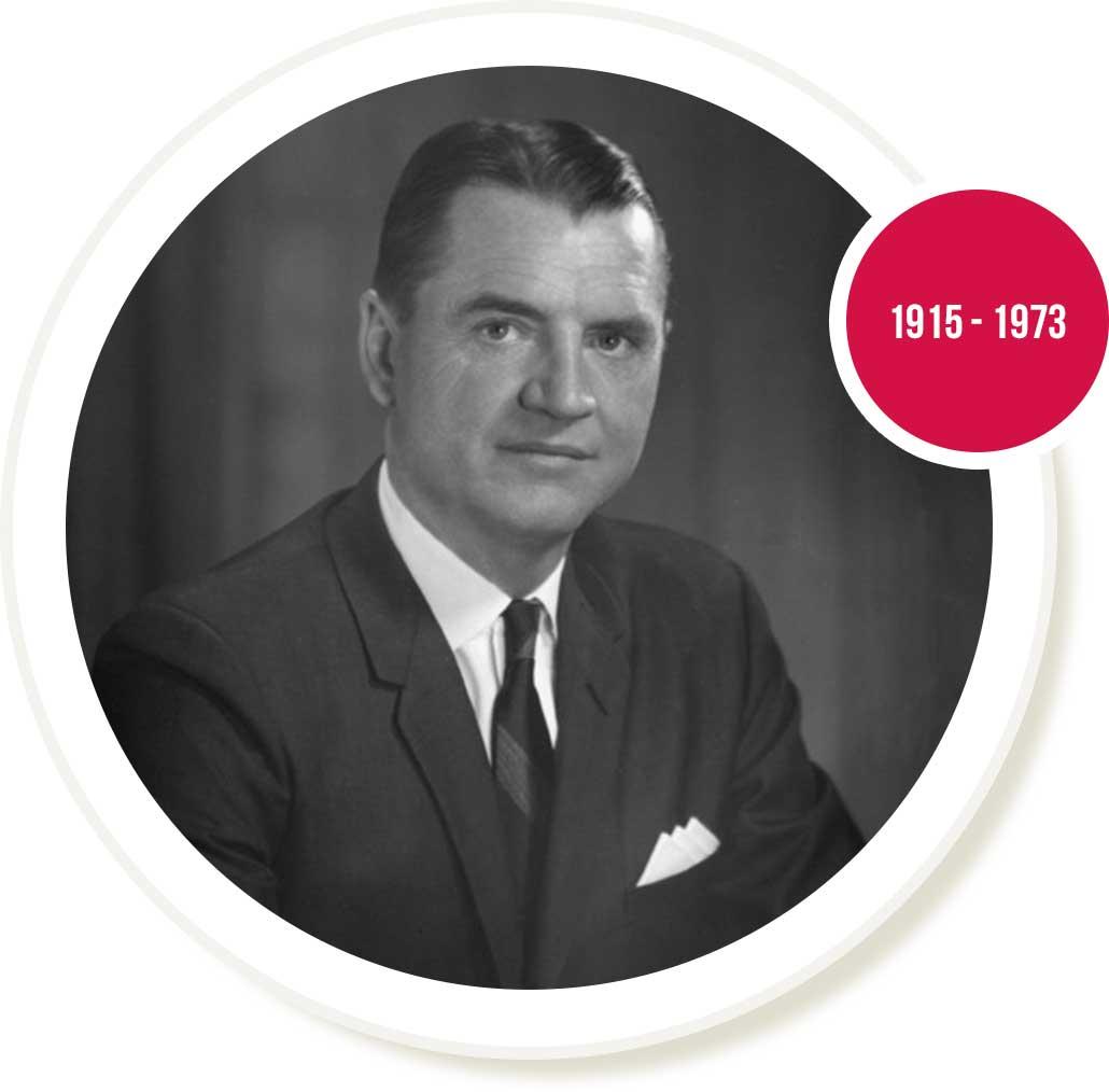 Vernon Rudolph 1915 - 1973