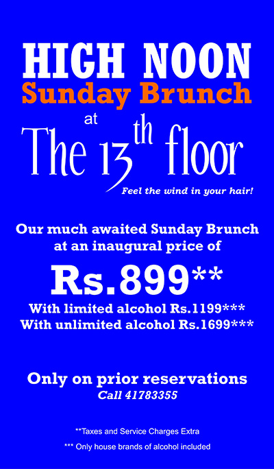Location for 13th floor bangalore reviews