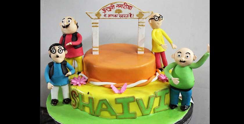 Motu Patlu Images For Birthday Cake : Bindaas Binge - Fresh Cakes, Bakes & More Mumbai Gallery