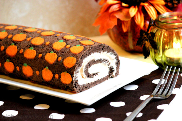 Chocolate Orange Swiss Roll Pastry