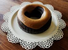 Chocolate Fudge Cake With Caramel Icing