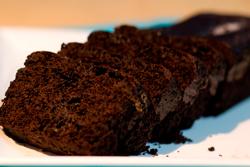 Eggless Chocolate Loaf Cake