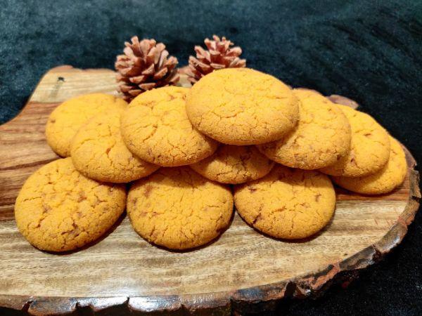 Butter Scotch Atta Cookies - Eggless