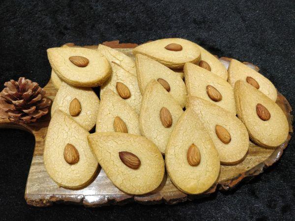 Almond Flour Atta Cookies - Eggless