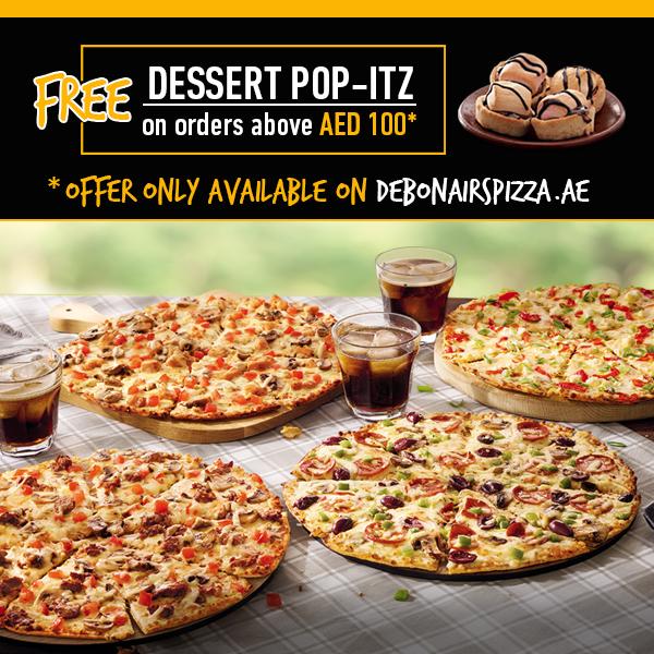 Debonairs Pizza- Dubai- TRY SOMETHING AMAZING
