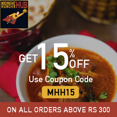 Order food online at night from Midnight Hunger Hub at New