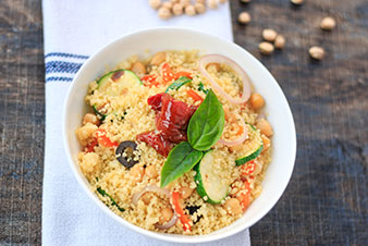 Roasted Pepper Couscous Salad