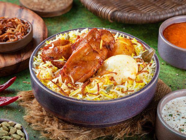 Kolkata Chicken Boneless Biryani