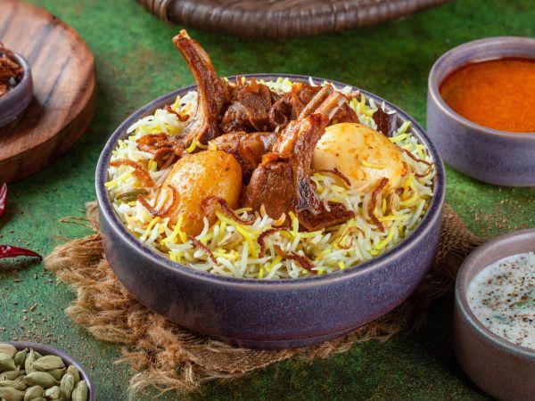Kolkata Mutton Biryani