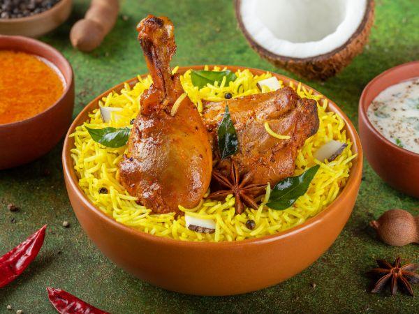 Dindigul Chicken Biryani