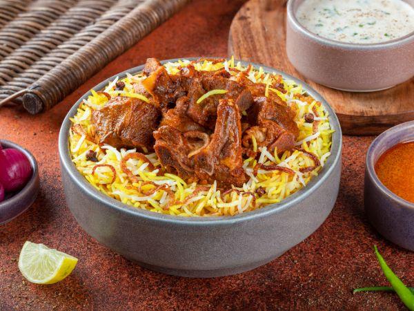 Hyderabadi Nizami Mutton Biryani