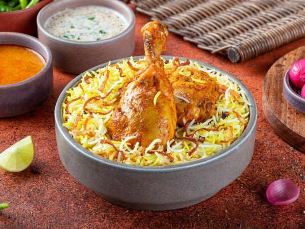 Hyderabadi Nizami Chicken Biryani