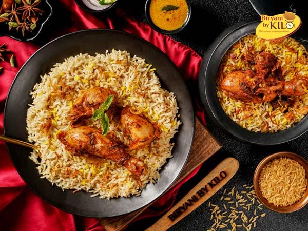 Chicken Brown Rice Biryani